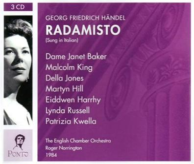 Handel - Radamisto - Norrington 1984