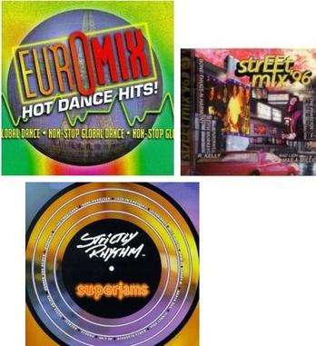 [3 CD Dance pack] Strictly Rhythm Superjams, Vol. 1 / Street Mix '96 / Euromix: Hot Dance Hits