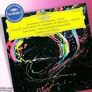 "Falla: El amor brujo (Love, the Magician), Dances from ""El sombrero de tres picos"" (""The Three-Cornered Hat""); Stravinsky: Suite from L'Oiseau de feu (The Firebird), 1919"