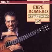 434 727-2 PEPE ROMERO·GUITAR SOLOS 《吉它独奏曲》(CD)