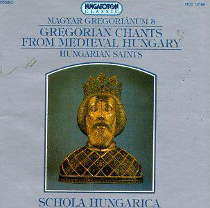 Gregorian Chants From Hungary V5