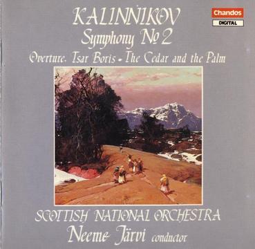 Kalinnikov: Symphony No.2 in A Major, Overture To Tsar Boris, The Cedar and The Palm