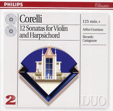 Corelli : 12 Sonatas for violin and Harpsichord Op.5