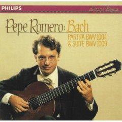 Pepe Romero: Bach - Partita BWV 1004 & Suite BWV 1009