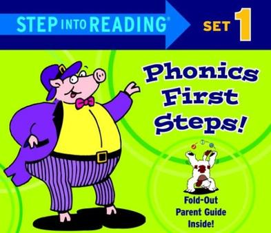 Step into Reading Phonics First Steps, Set 1