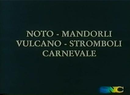 诺托·杏花·火山·斯特龙博利·狂欢节