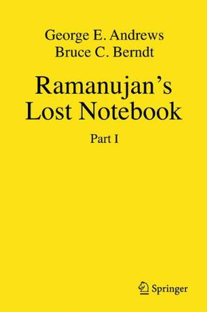 Ramanujan's Lost Notebook