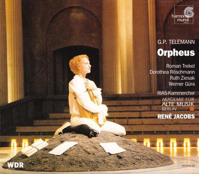 Telemann - Orpheus / Trekel, Röschmann, Ziesak, Güra, Poulenard, Köhler, Kiehr, Jacobs