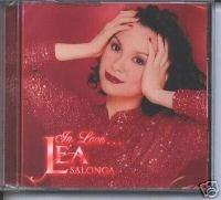 Lea In Love Lea Salonga - Philippines Tagalog CD