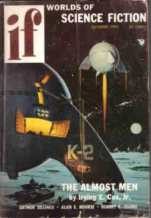 Worlds of IF Science Fiction, October 1955 (Volume 5, No. 6)