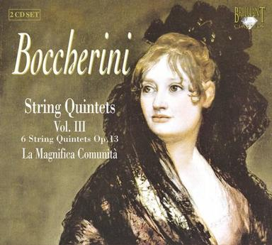 Boccherini: String Quintets Vol. 3