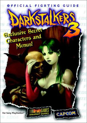 Darkstalkers 3 Official Strategy Guide (Brady Games Strategy Guides)