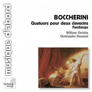 boccherini : Quatuors pour deux clavecins Fandango
