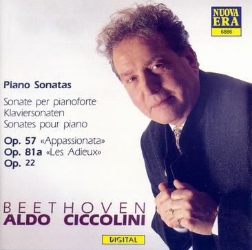 Beethoven: Klaviersonaten Op.22, 57, 81a