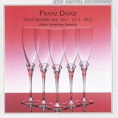 Franz Danzi - Wind Quintets Op.56, 67 & 68