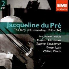 Jacqueline du Pré - The Early BBC Recordings 1961-1965