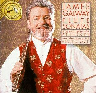 James Galway ~ Flute Sonatas - Franck · Prokofiev · Reinecke / with M. Argerich · P. Moll