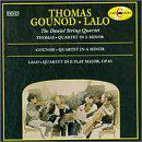 Lalo: String quartet in Ef; Gounod: String quartet No3