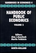 Handbook of Public Economics Volume 3