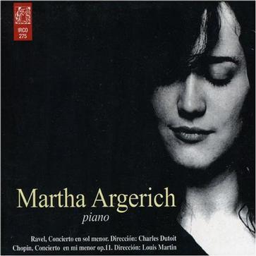 Martha Argerich plays Ravel & Chopin
