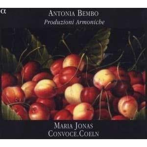 Antonia Bembo: Produzioni Armoniche