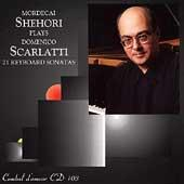 Mordecai Shehori: Pianist Plays Domenico Scarlatti