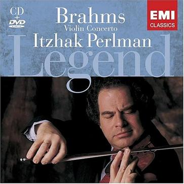 Brahms: Violin Concertos [Includes DVD: Rare Performance of Perlman on Film]