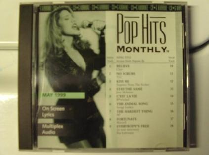 Pop Hits Monthly-9905 Karaoke CDG May 1999 Multiplex