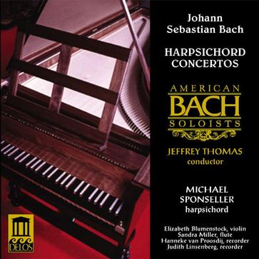 BACH: Konzert fuer Cembalo Flote & Bc BWV1057