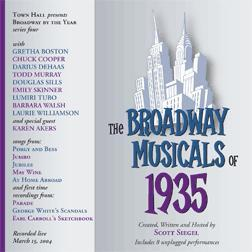 Broadway Musicals of 1935