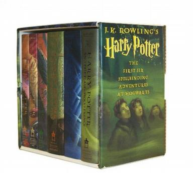 J.K.ROWLING THE Harry Potter COLIECTION-(全6册)