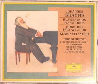 Brahms: Piano Trios; Horn Trio,op40; Clarinet Trio,op114