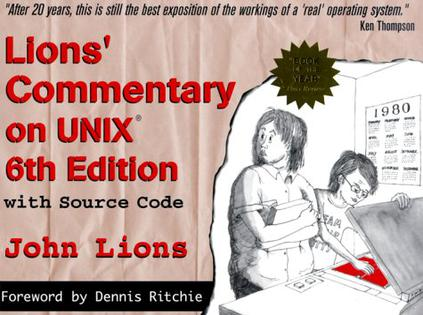 Lion's Commentary on UNIX with Source Code