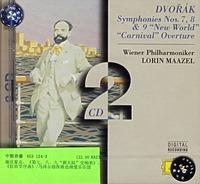 进口:德沃夏克:第7,8,9交响曲(马泽尔指挥)(453 124-2)