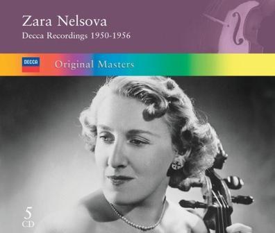 Zara Nelsova Decca Recordings 1950-1956
