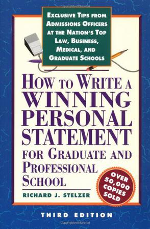 How to Write a Winning Personal Statement 3rd ed
