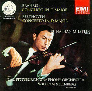 Beethoven - Violin Concerto in D; Brahms - Violin Concerto in D