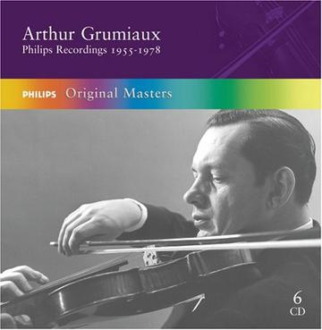 Arthur Grumiaux Philips Recordings 1955-1978