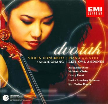 Dvorak: Violin Concerto, Piano Quintet, op.81