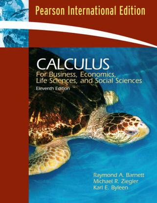 calculus for business and social science pdf