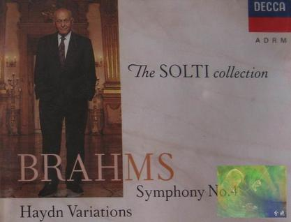 The SOLTI Collection:BRAHMS Symphony No.4, Haydn Variations