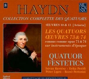Haydn: Les Quatuors Oeuvres 73 & 74 (connus comme opus 71 & 74) - String Quartets 73 & 74 (also known as Opus 71 & 74)