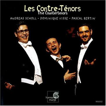 Scholl, Visse, Bertin: Les Contre-Ténors / The Countertenors