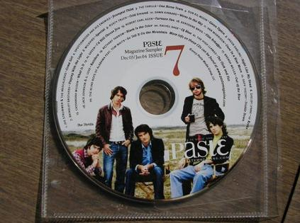 Paste Magazine Music Sampler #7