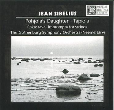 SIBELIUS: Pohjola's Daughter / Rakastava / Tapiola / Impromptu