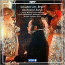 Schubert Songs, orchestrated by Max Reger
