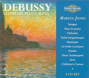 Debussy: Complete Piano Music [Box Set]