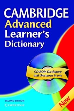 Cambridge Advanced Learner's Dictionary, Second Edition (Book & CD ROM)