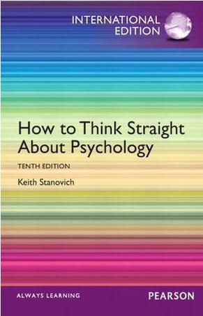 How to Think Straight About Psychology (10e)