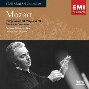 "Mozart: Symphonies 38 ""Prague"" & 39; Bassoon Concerto"